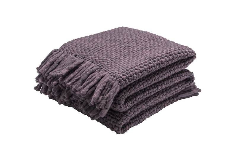 Medium Plum Blanket