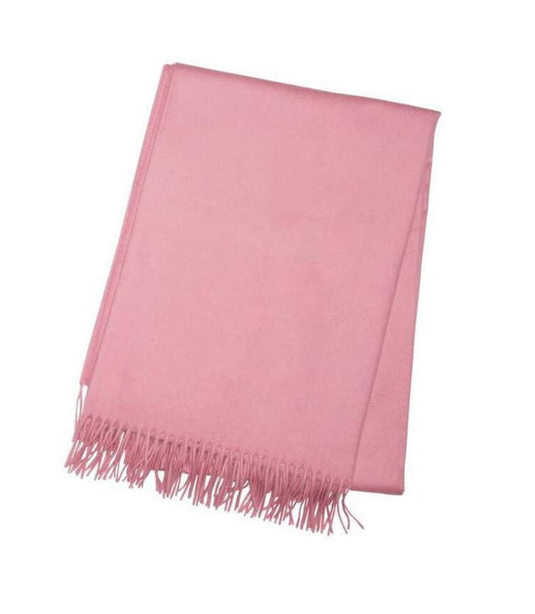 Rose Cashmere Throw