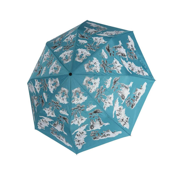 Limited Edition Harlem Toile Travel Umbrella - Tribute Goods