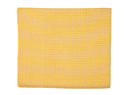 Taupe/Yellow Cashmere Blanket - Tribute Goods