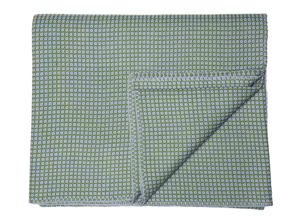 Blue/Green Cashmere Blanket - Tribute Goods