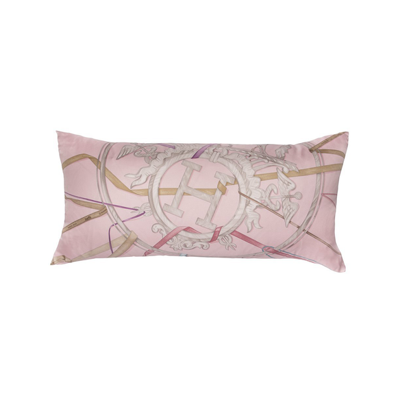 """Attrape Tes Reves"" Hermès Silk Scarf Pillow - Tribute Goods"