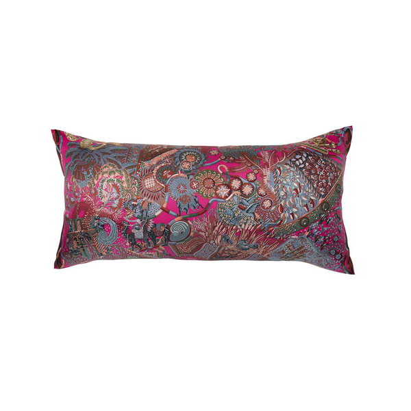 """Au Fil Du Carre"" Hermès Silk Scarf Pillow - Tribute Goods"