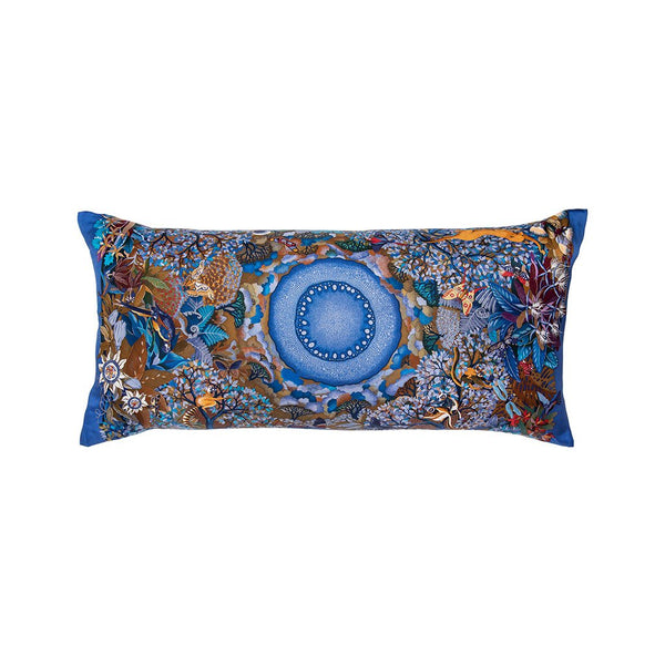 """Au Coeur de la Vie"" Hermès Silk Scarf Pillow - Tribute Goods"