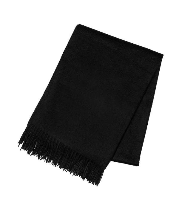 Black Cashmere Throw - Tribute Goods