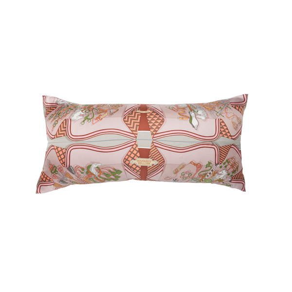 """Bouquets Sellier"" Hermès Silk Scarf Pillow - Tribute Goods"