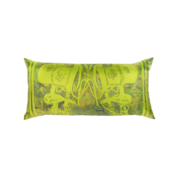 """Brides de Gala"" Hermès Silk Scarf Pillow - Tribute Goods"
