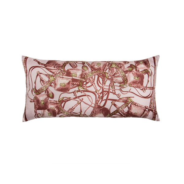 """Brides Rebelles"" Hermès Silk Scarf Pillow"