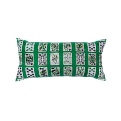 """Carre 90 Jeu De Carte"" Hermès Silk Scarf Pillow"