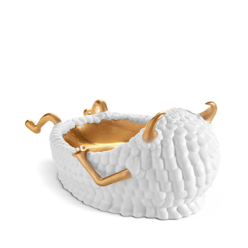 Haas Lazy Susan Catchall, White - Tribute Goods