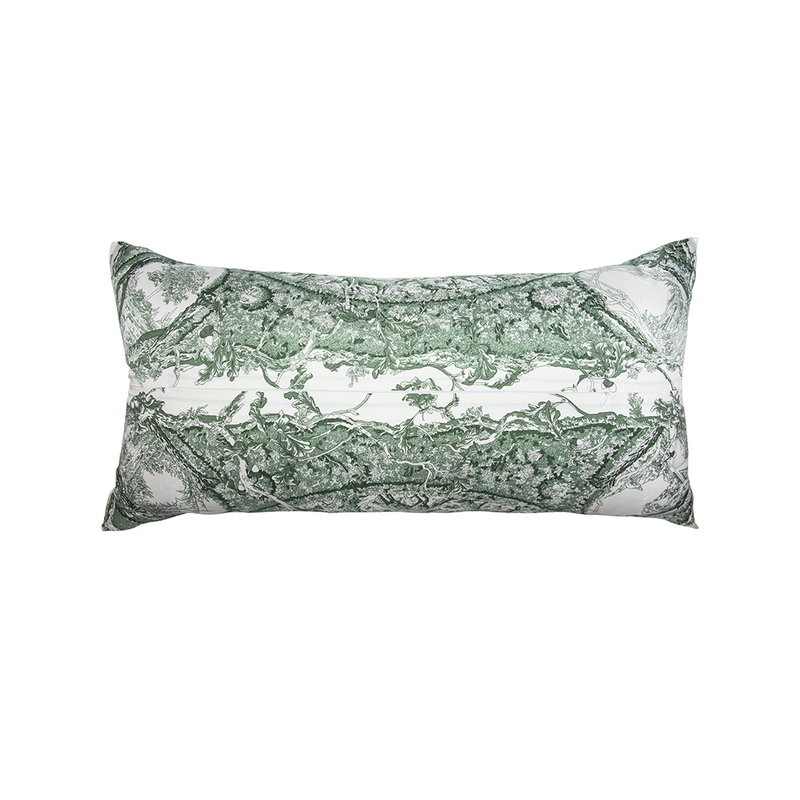 """Jardin des Metamorphoses"" Hermès Silk Scarf Pillow"
