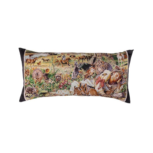 """Madison Avenue"" Hermès Silk Scarf Pillow - Tribute Goods"