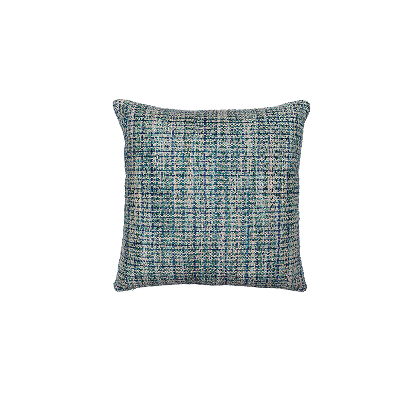 Peacock Babes Tweed Pillow