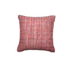 Pink Maraschino Babes Tweed Pillow