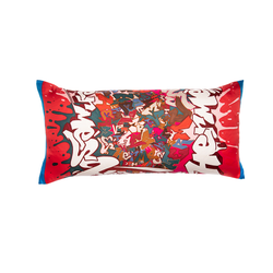 """Graff"" Hermès Silk Scarf Pillow"