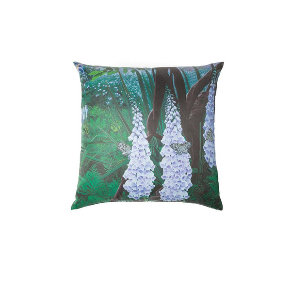 Silk Foxglove Pillow