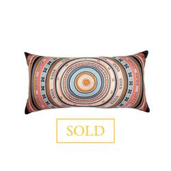 """Tohu Bohu"" Hermès Silk Scarf Pillow - Tribute Goods"