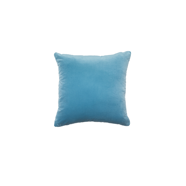 """Gaspard"" Velvet Square Pillow"