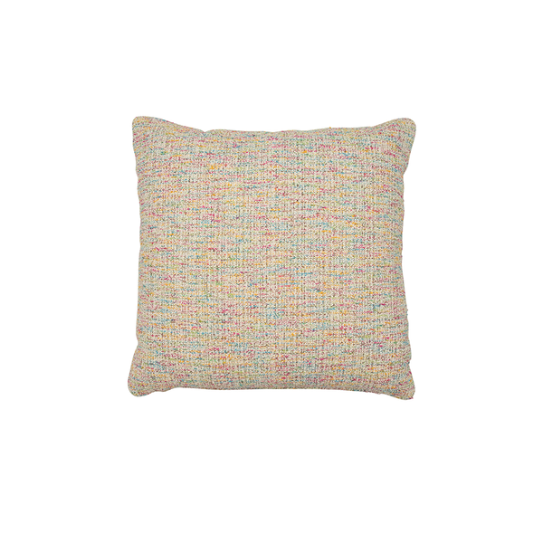 "Tweed ""Bits & Pieces"" Decor Pillow"