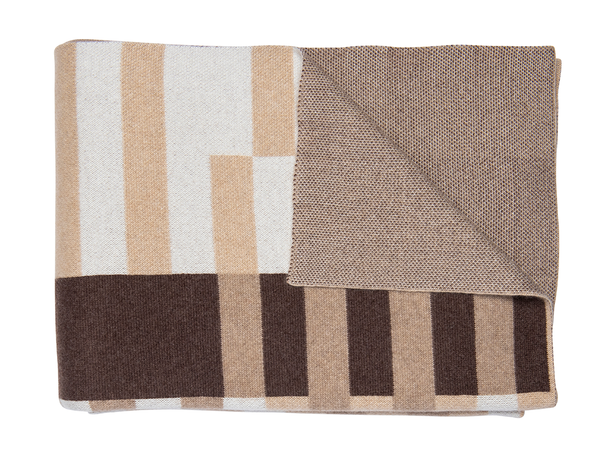 Brown, Tan & Beige Camel Throw