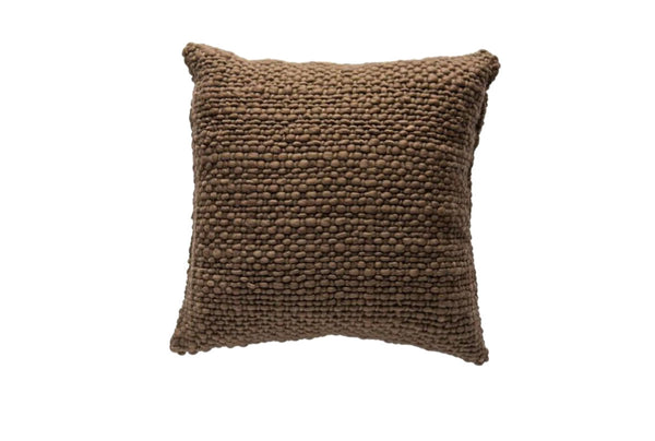 Square French Roast Pillow