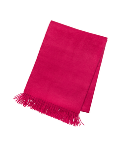 Berry Cashmere Throw