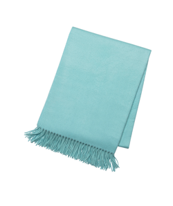 Tiffany Blue Cashmere Throw