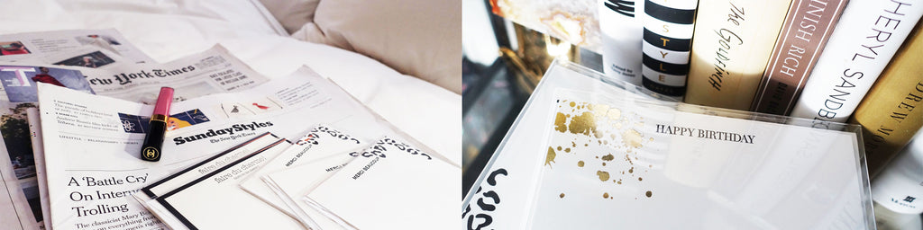 Love and Mark Paper Co Luxury Stationery