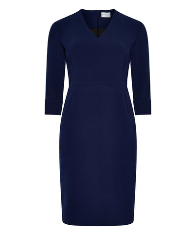 Navy Petite Shift Dress