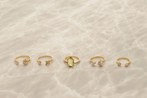 Jewellery Rings Gold