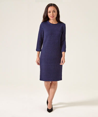 Petite Navy Sweater Dress
