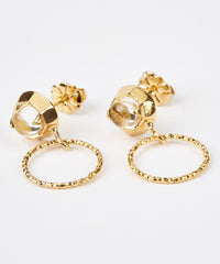 Orbit Drop Earrings - Jennifer-Anne