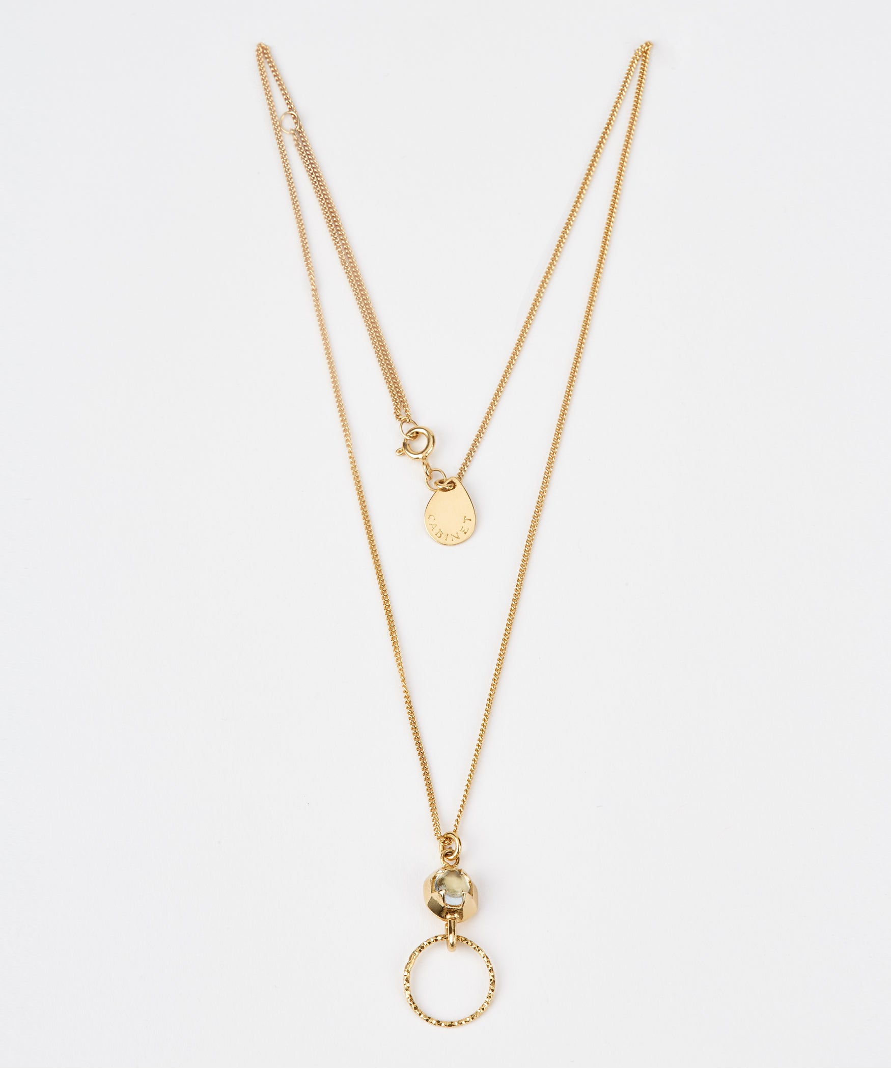 Orbit Drop Necklace - Jennifer-Anne