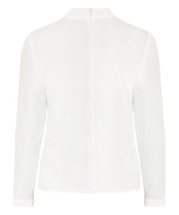 Petite Ivory High Neck Top - Jennifer-Anne