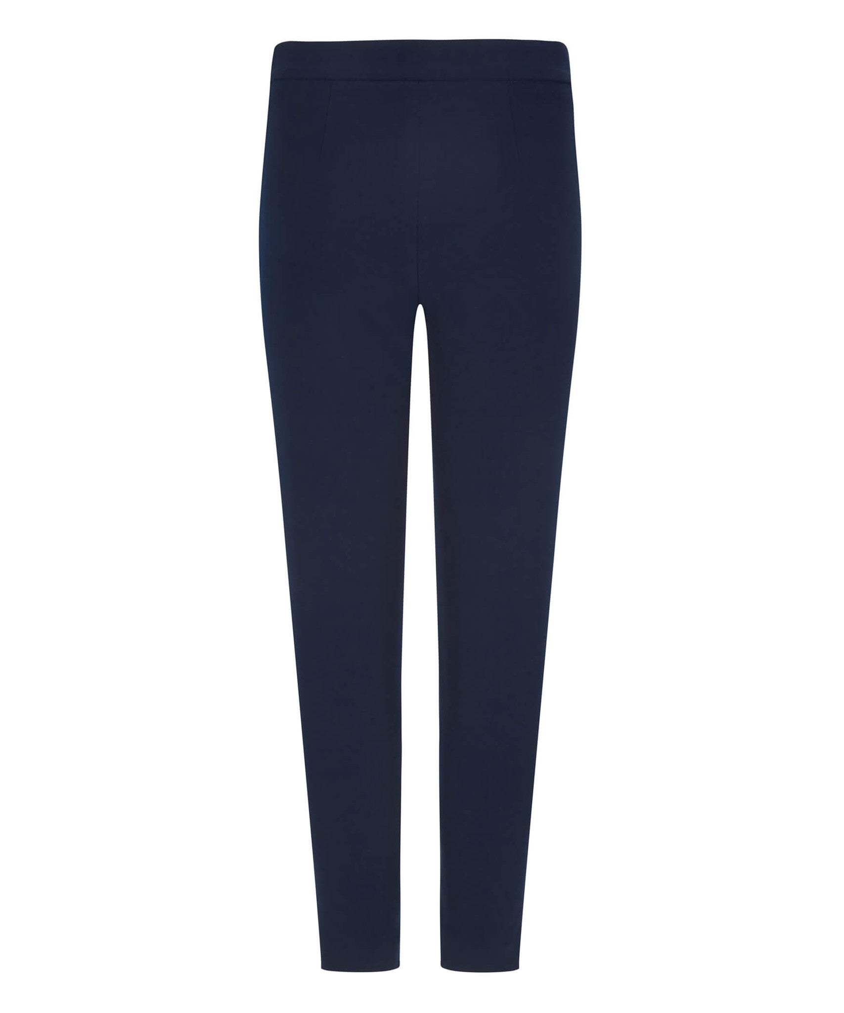 Petite Navy Blue Pocket Trousers - Jennifer-Anne
