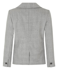 Petite Grey Merino Wool Blazer - Use Code Anniversary for 25% off!