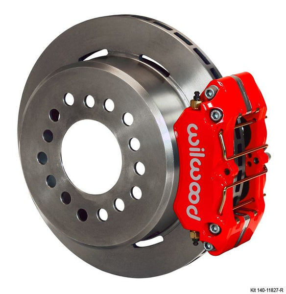 Wilwood - Dynapro Low-Profile Rear Parking Disc Brake Kit (Red Calipers)
