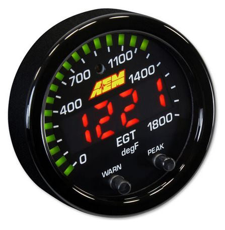 X-Series EGT Gauge 0~1800F / 0~1000C
