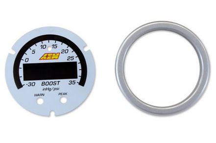 X-Series Boost Pressure Gauge -30inHg~35psi / -1~2.5bar Accessory Kit
