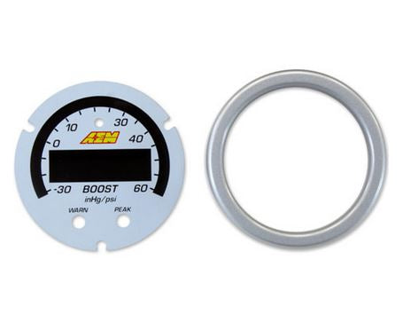 X-Series Boost Pressure Gauge -30~60psi / -1~4bar  Accessory Kit