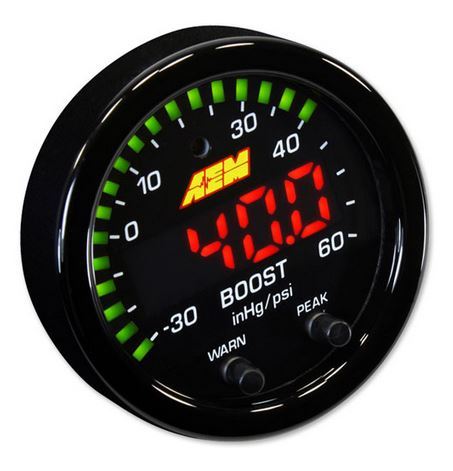 X-Series Boost Pressure Gauge -30~60psi / -1~4bar
