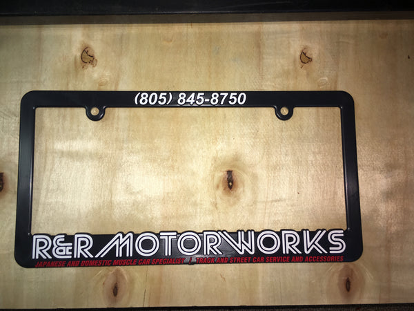 R&R Motorworks - 1st Edition License Plate Frame
