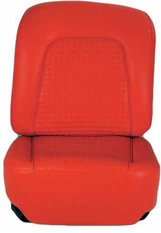 Red OEM Style Seat Covers - 1956 & 1957 C1 Corvette
