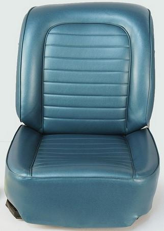 Turquoise OEM Style Seat Covers w/ Seat Heater - 1959 C1 Corvette