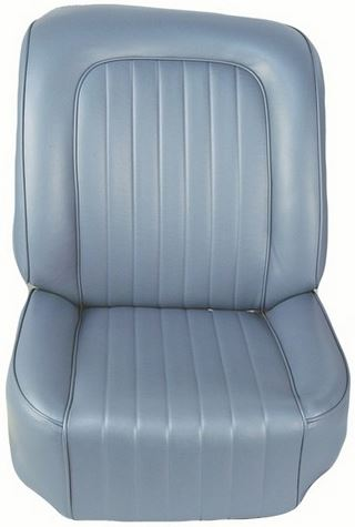 Black OEM Style Seat Covers - 1960 C1 Corvette