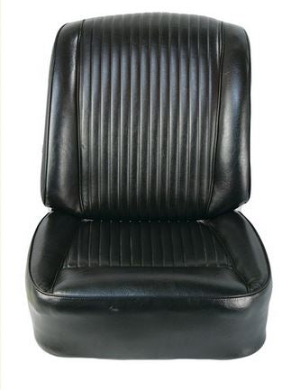 Black OEM Style Seat Covers - 1962 C1 Corvette