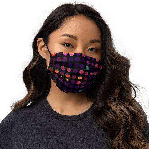 Danger Dotty Face Mask