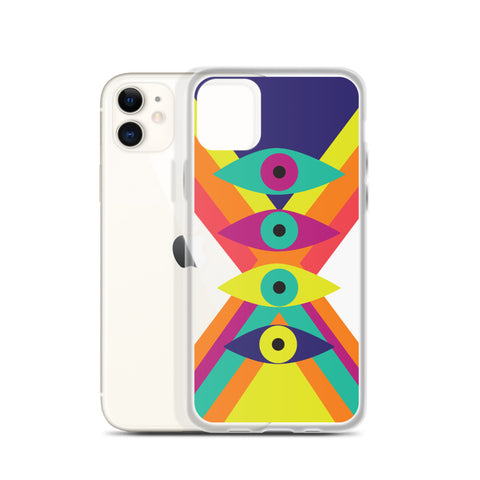 """Eyes on You"" iPhone Case"