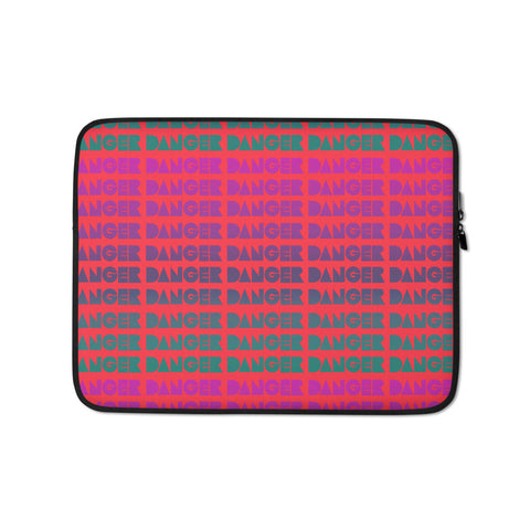 Danger Shapes Laptop Sleeve