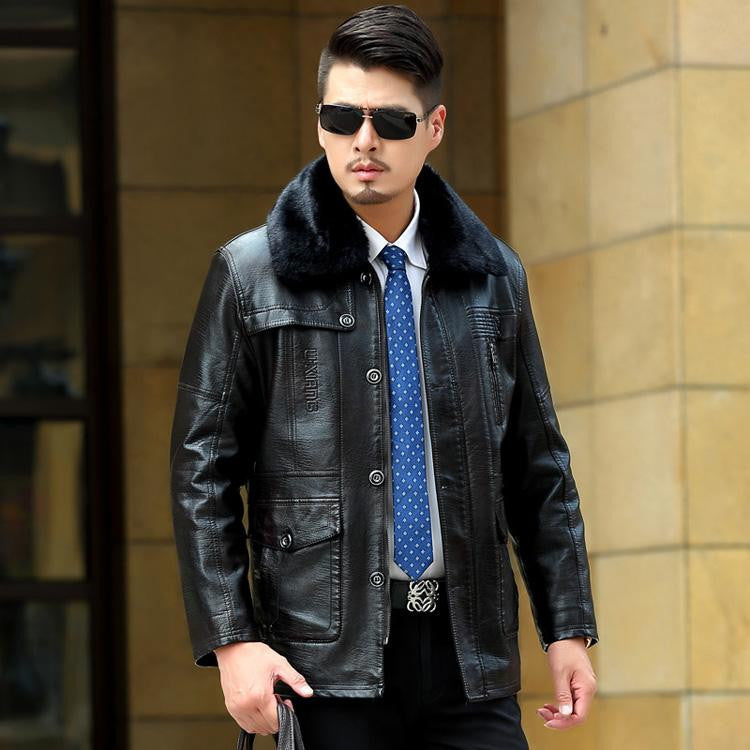 How to Wear a Leather Jacket This Winter